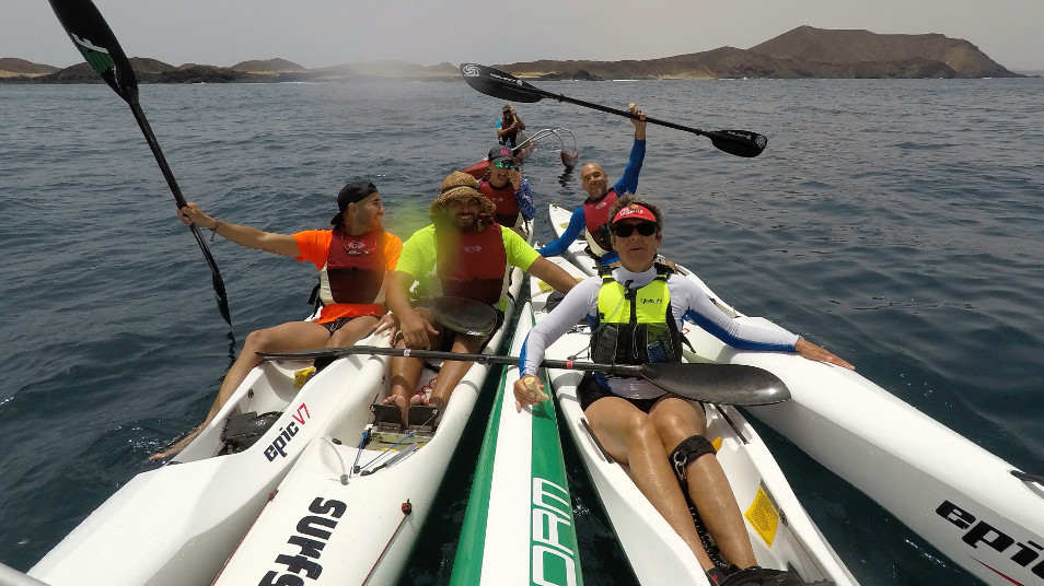 Surfski tours